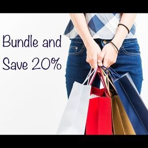 Save 20% off bundles!!